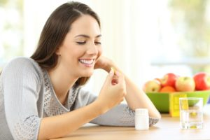 Breastfeeding vitamins woman